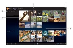 How To Use Pictures In Alum - Xperia Tablet Z