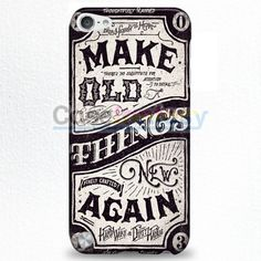 Make Old Things New Again iPod Touch 5 Case | casefantasy