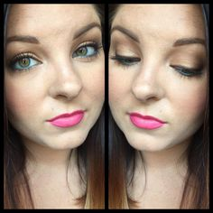 Makeup with pops of color by Maegan Mapoles