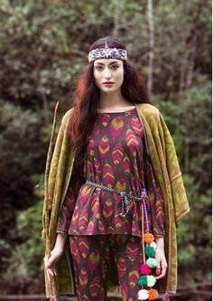 The Amazon & the Andes - Fashion - Collections - Winter - Gudrun Sjödén