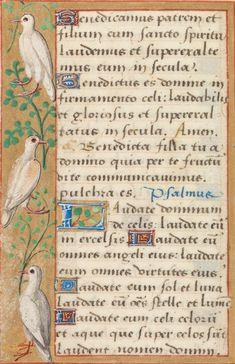 Utopia, armarium codicum bibliophilorum, Cod. 103, f. 51v – Book of hours of Bénigne Serre