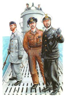 submarinistas de los U boote