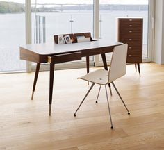 Retro Office Desk From Naver   Wharfside   Contemporary Furniture Stores Retro  Office, Retro Desk