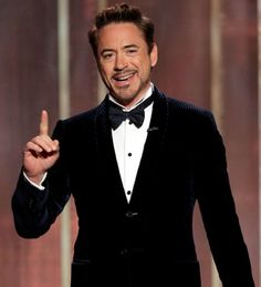 Robert Downey Jr. - 2013 Golden Globes - via MyTuxedoCatalog.com