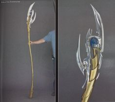 Making Loki& Sceptor / Staff from the Avengers. (Crazy cool instructions for building this, but lots of great ideas for constructing staffs in general for cosplay purposes! Cosplay Diy, Halloween Cosplay, Best Cosplay, Loki Cosplay Tutorial, Halloween Coatumes, Cosplay Weapons, Amazing Cosplay, Anime Cosplay, Traje Loki