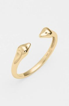 Bony Levy 14KT Stackable Open Band Ring (Nordstrom Exclusive)