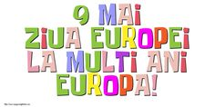9 Mai Ziua Europei La multi ani, Europa! 9 Mai, Bar Chart, Europe, Bar Graphs