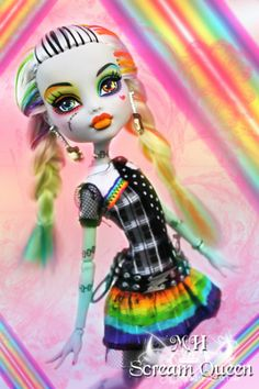rainbow high | Rainbow Frankie SDCC