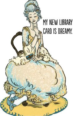 My new library card is dreamy. Finally figured out how to borrow library books on my Kindle. Heaven!