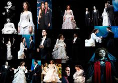 got a little excited after seeing photos from  the Phantom Broadway 25th Anniversary when the 5 phantoms sang with Sierra Boggess :D a collage I made :) made by Daphne Wood