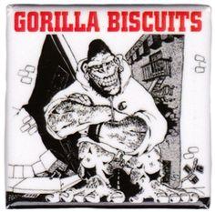 GORILLA BISCUITS START TODAY MAGNET $5.00 #gorillabiscuits #housewares #magnet