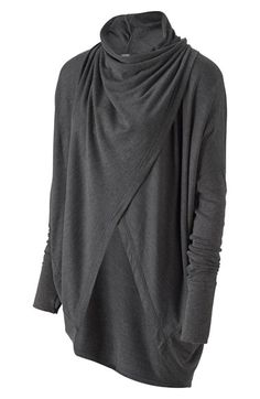 Zella+'Studio'+Draped+Wrap+Top+available+at+#Nordstrom