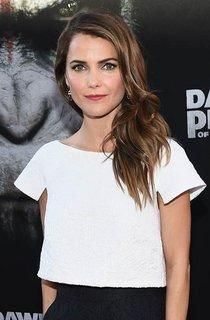 Keri Russell shows off the perfect summer hair hues