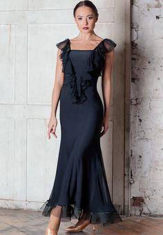 Chrisanne Clover Diamond Ballroom Dress | Dancesport Fashion @ DanceShopper.com