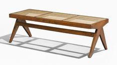 Pierre Jeanneret, Le Corbusier, Chandigarh, Pj, Teak, Dining Bench, Auction, Contemporary, Furniture
