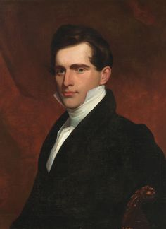 Attributed to Thomas Sully (American, 1783-1872), Portrait of a Gentleman. Oil on canvas, 29 x 21 in.