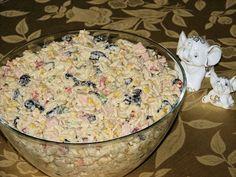 Sałatka hit przyjęcia Potato Salad, Food And Drink, Rice, Potatoes, Cheese, Ethnic Recipes, Ds, Recipes, Recipies