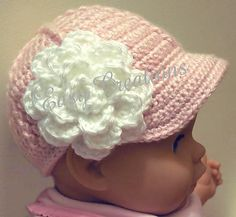 Ravelry: Baby Boy or Girl Baseball Cap Pattern by Marcia Peterson