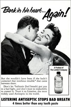 vintage listerine ad http://www.budgetchic.org/sepiafaces/ad_1950s_5.gif
