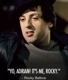 Sylvester Stallone Rocky Balboa, Rocky And Adrian, Stallone Rocky, Silvester Stallone, Fictional Heroes, The Expendables, Jackie Chan, Clint Eastwood, Interesting Faces