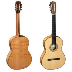 Felippe Condo Flamenco Guitar  Top Spruce, cerry wood rosewood back and sides.