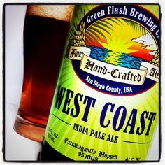 ウエストコーストIPA/グリーンフラッシュ  West Coast IPA/Green Flash Brewing...like a pine cone granade went off in your mouth