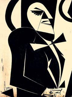 Il Gobbo Clavel, 1917 Artist: Fortunato Depero