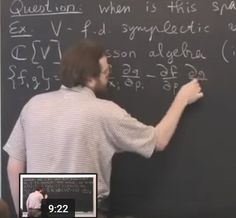 "Pavel Etingof - ""D-modules on Poisson varieties and Poisson traces"" https://www.youtube.com/watch?v=UyVGWZ-iLR8"