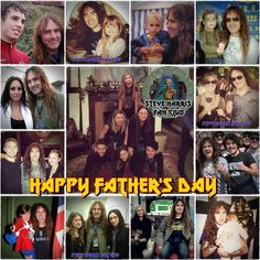 Steve Harris and his six children