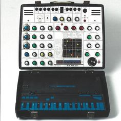 An AKS Synthi synthesizer, purchased by Brian Eno in 1974.