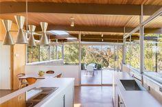 Richard Neutra - mid-century - roberts residence - kitchen