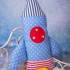 handmade maskotki rakieta-poduszka poduszka dziecięca rakieta