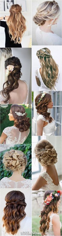 awesome 200 Bridal Wedding Hairstyles for Long Hair That Will Inspire / www.himisspuff.c... by http://www.tillfashiontrends.space/hairstyles/200-bridal-wedding-hairstyles-for-long-hair-that-will-inspire-www-himisspuff-c/