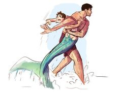 Read 8 from the story Imágenes Sterek by (Leidy Laura) with reads. Fantasy Creatures, Mythical Creatures, Character Inspiration, Character Design, Sterek Fanart, Mermaid Man, Mermaid Drawings, Mermaids And Mermen, Wow Art