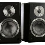 """The SVS Ultra Bookshelf Speaker, """"...is handsomely styled and draws design cues from the company's flagship Ultra Tower speaker with a sonic-enhancing wedge-shaped front baffle and flush-mounted drivers, proprietary SVS drivers and the intelligent SoundMatch Crossover Network."""" #speakers #audio #SVS #bookshelf #loudspeaker"""
