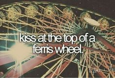 ♥ conquering fear of heights would be included in this. With the right soul beside me i can do that.