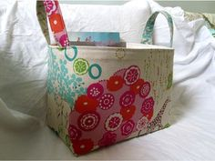 great for storing strewing ideas for little kids - nice big handles for kids to carry around
