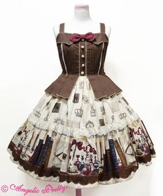 Victorian Letter Tiered JSK in Ivory « Lace Market: Lolita Fashion Sales and Auctions