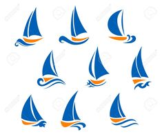 Find Yachting Regatta Symbols Yacht Sports Design stock images in HD and millions of other royalty-free stock photos, illustrations and vectors in the Shutterstock collection. Great Lakes Map, Sailing Logo, Icon Design, Logo Design, Graphic Design, Waves Logo, Photo Images, Stencil Designs, Logo Inspiration