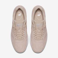 outlet store a89fa 6ea96 Chaussure Nike Air Max 1 Pas Cher Femme Sd Flocons Davoine Blanc Gomme  Marron Clair Flocons Davoine