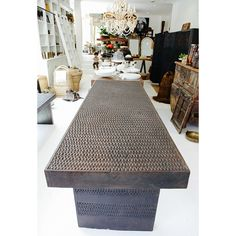 Manyara Home :: Furniture :: Tables :: Timorese Carved dining / console Table