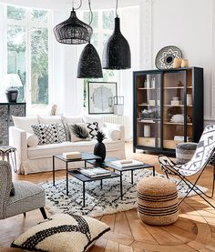 Novel Small Living Room Design and Decor Ideas that Aren't Cramped - Di Home Design Room Design, Interior Design, Living Room Inspiration, Home, Interior, Moroccan Living Room, Home Deco, Living Room Grey, Living Room Designs