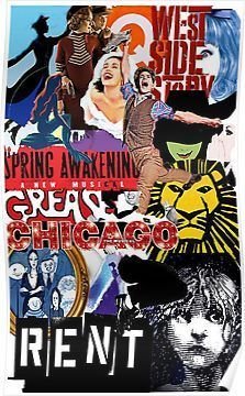 'broadway theatre' Poster by RobertCoopere <br> Millions of unique designs by independent artists. Find your thing. Teatro Musical, Musical Theatre Broadway, Broadway Shows, Theater, Theatre Nerds, Alvin Ailey, Dark Fantasy Art, Royal Ballet, Broadway Musicals