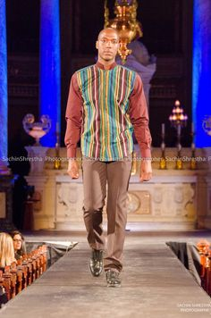 BLACK FASHION WEEK MONTREAL 2014 - Cooking-Chef  printed front Shirt