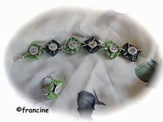 """FRANCINE BRICOLE : Les capsules """"Nespresso"""" au carré deviennent brace..."""