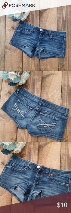 Jean Shorts Cute denim shorts From Aeropostale  Size 3/4 Aeropostale Shorts Jean Shorts
