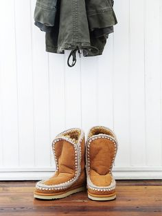 I really like these - mou Creston Ankle Boot at Free People Clothing Boutique