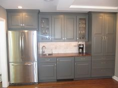 white and gray kitchen ideas | Grey And White Kitchen Design Ideas, Pictures, Remodel, and Decor
