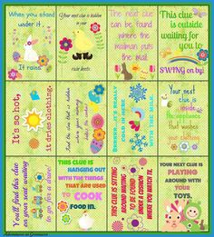 31 unexpected ways to celebrate easter with kiddos puzzle games easter hunt negle Gallery