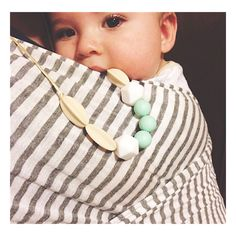 Chewable Charm Skye Silicone Teething Necklace